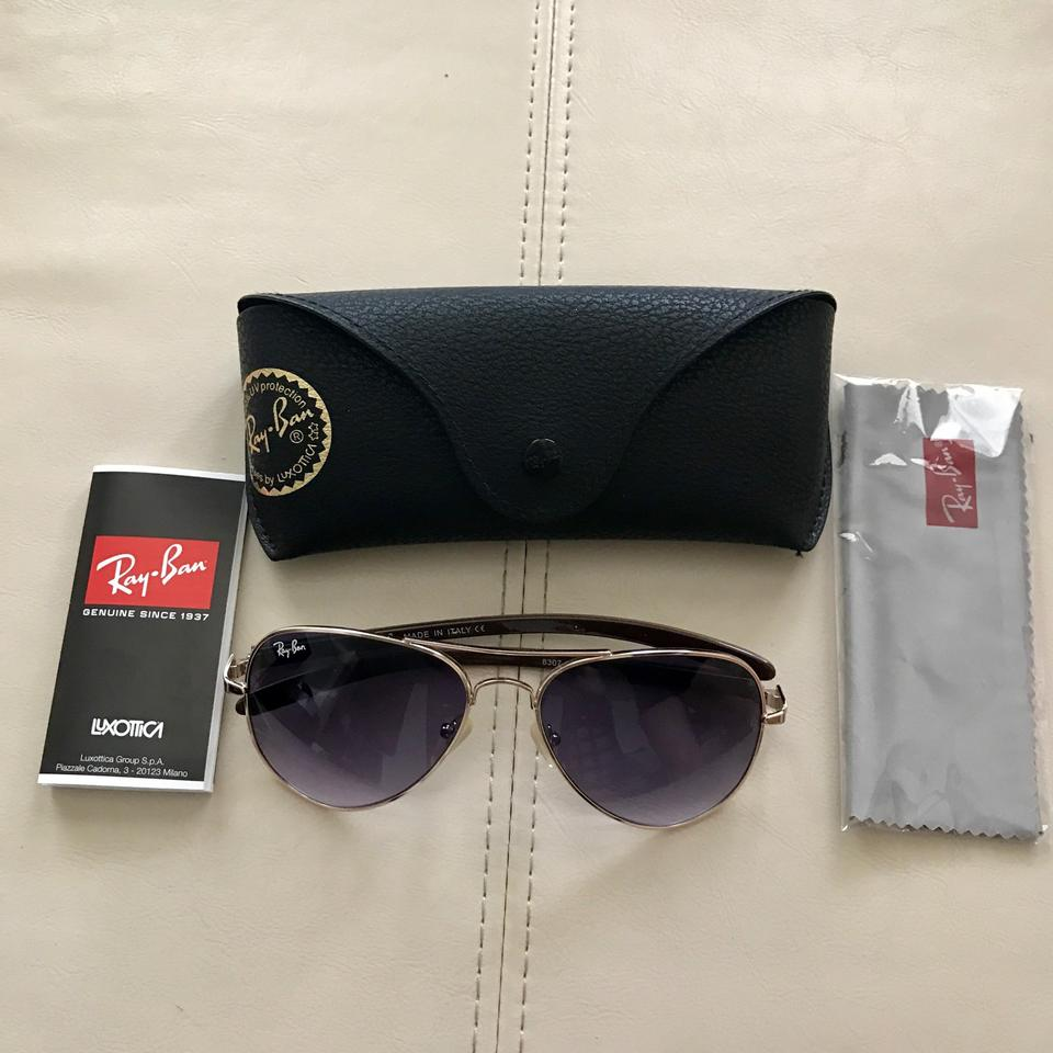 9d2a657300d Ray-Ban Gold Rb8307 58 14-128 Sunglasses - Tradesy