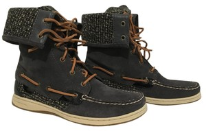 Sperry Gray Boots