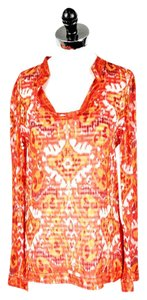 Tory Burch Sequin Silk Tunic