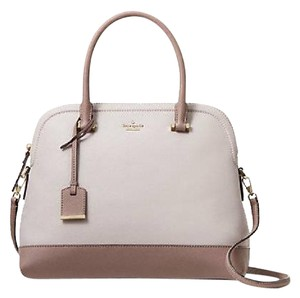 Kate Spade Satchel in NEUTRAL/PORCINI
