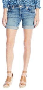 True Religion Emma Bermuda Cuffed Shorts Gypset Blue