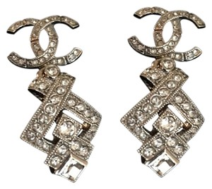 Chanel Chanel CC Crystal Earrings