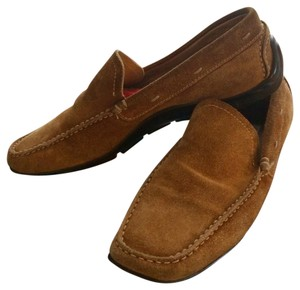 Barneys Co-Op Loafters Driving Mocs Size 7 brown Flats