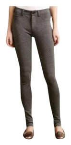 Anthropologie Ankle Comfor Low-rise Skinny Pants Heather Grey