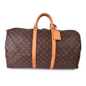Louis Vuitton Vuitton Keepall 55 Vuitton Keepall Keepall 55 Travel Bag