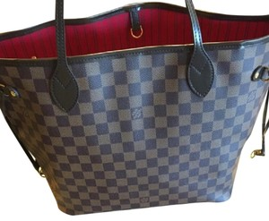 Louis Vuitton Tote in Brown and Black