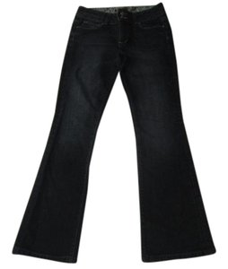 Paige Denim Boot Cut Jeans-Dark Rinse