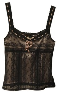 Express Top Black and Pink