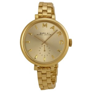 Marc by Marc Jacobs MARC BY MARC JACOBS Sally Champagne Dial Gold-tone Ladies Watch