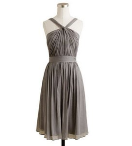 J.Crew Graphite Sinclaire Dress