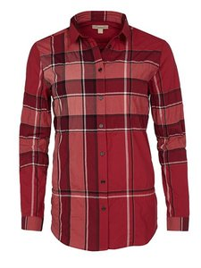 Burberry Brit Sale Shirt Top Red