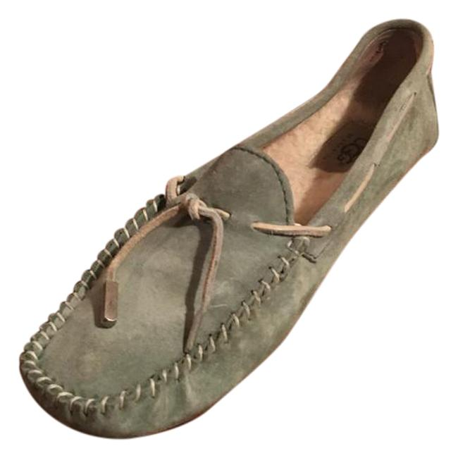 Item - Green Mint Suede Loafers Flats Size US 8 Regular (M, B)