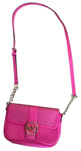 Michael Kors With Holes Leather Cross Body Bag