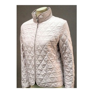 Burberry Quilted Nova Check Pale Pink Jacket