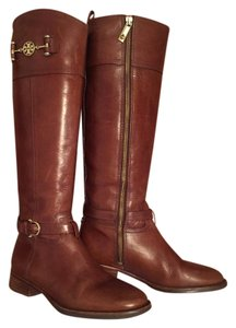 Tory Burch Saddle Brown Boots