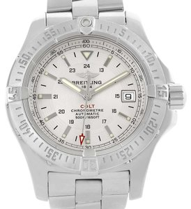 Breitling Breitling Colt Silver Dial Stainless Steel Automatic Mens Watch A17380