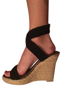 N.Y.L.A. Black Wedges
