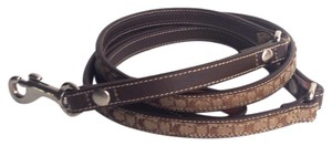 Coach Signature Dog Leash