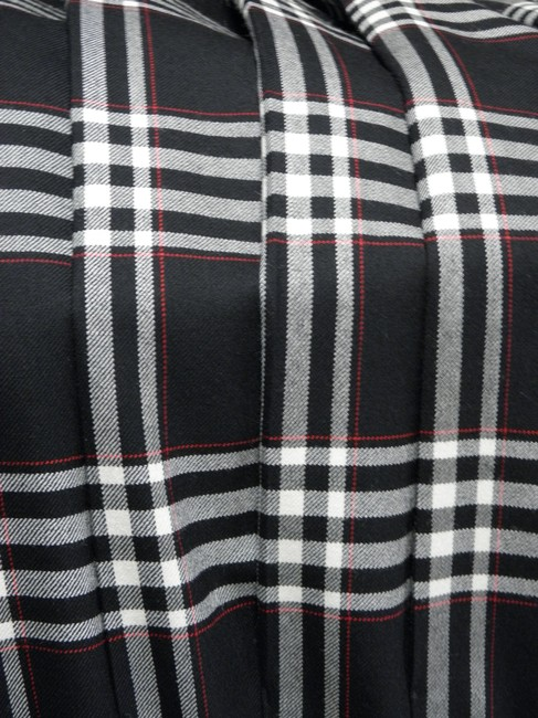 Pendleton Skirt Black with red and white plaid