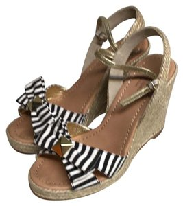 Kate Spade black and white Sandals