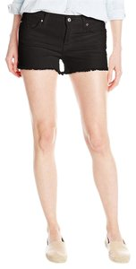 7 For All Mankind Cut Off Shorts Black