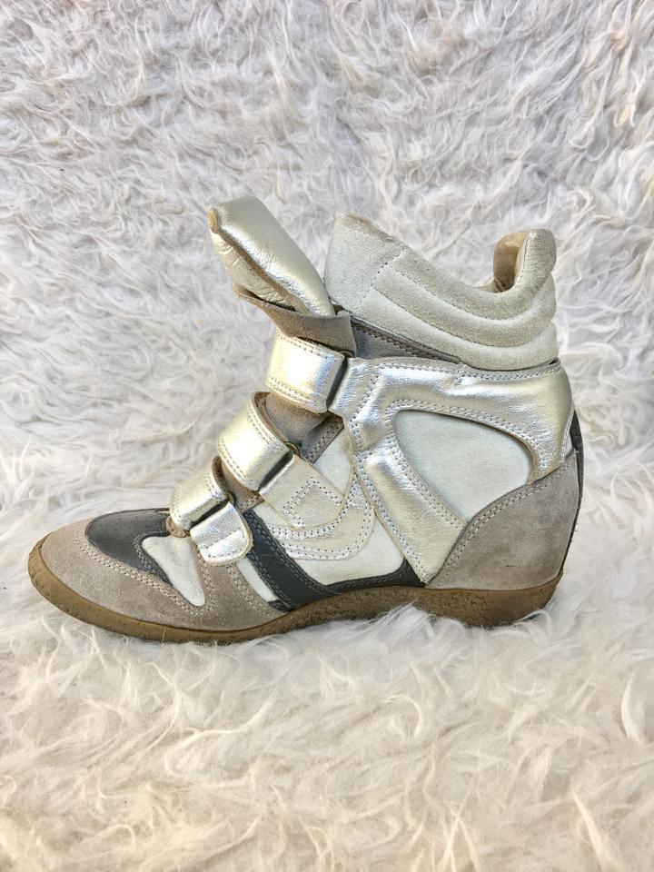 2082500a24ef Steve Madden Taupe Silver Gray Hilight Suede Fashion Ankle Sneaker ...