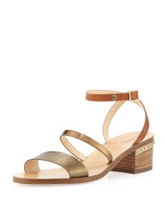 Jimmy Choo Brand New Strappy Gold Sandals