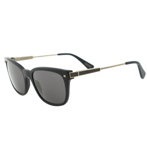 Lanvin New Lanvin SLN663 Polarized Black Acetate Metal Rectangular Sunglasses