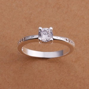 White Sapphire Promise Ring Free Shipping