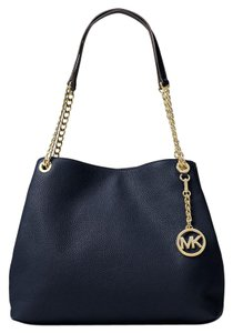 Michael Kors Jet Set Chain Crossbody Tote in navy