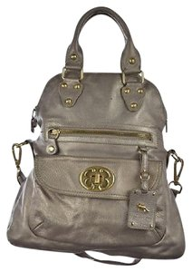 Emma Fox Womens Purse Metallic Leather Handbag Casual Shoulder Bag