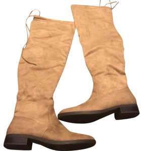 Charlotte Russe Beige Boots