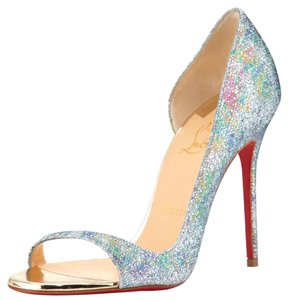 Christian Louboutin multi glittering Pumps