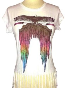 84be000a2 Wildfox Fringe T-shirt Trendy T Shirt Mainly white