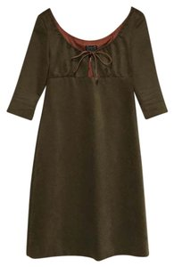 Cynthia Rowley short dress olive green on Tradesy