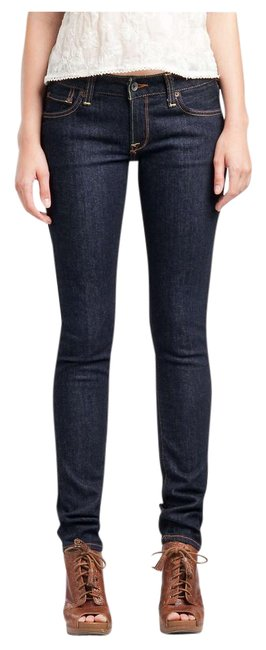 Item - Blue Distressed 'lola' Med Wash Sweet & Low 10/30 Straight Leg Jeans Size 33 (10, M)