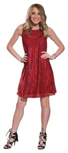 Infinity Raine short dress Red on Tradesy