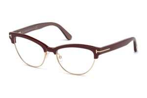 Tom Ford NEW Tom Ford 5365 Burgundy Cat Eye Eyeglasses Frames