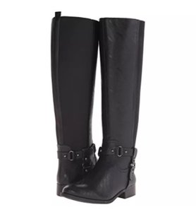 Jessica Simpson Equestrian Riding Leather Boots Boots