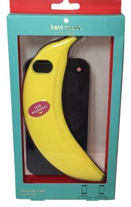 Kate Spade TOP BANANA Silicone Phone Case Apple iPhone 6 6S