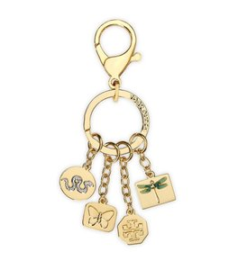 Tory Burch Tory Burch Sylbie Keychain Key Fob Bag Charm Rare