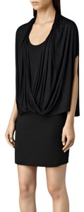 AllSaints Flowy Sexy Layered Rare Sold Dress