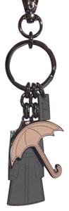 Burberry Burberry Trench Coat and Umbrella Key Charm
