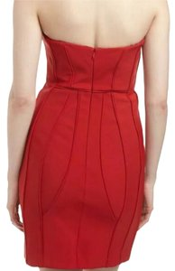 Laundry by Shelli Segal Strapless Sweetheart Rose Bodice Structured Dress