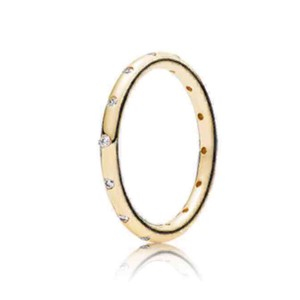PANDORA Droplets Gold Ring