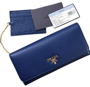 Prada Prada flap large wallet