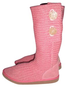 UGG Australia Coral Salmon Pink Sorbet Classic Cardy Sorbet Pink Boots