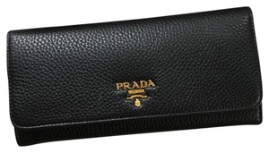 Prada Prada wallet black leather
