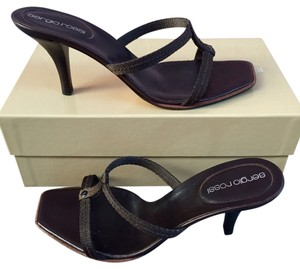 Sergio Rossi Brown Sandals
