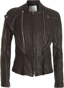 3.1 Phillip Lim Leather Biker Motorcycle Leather Jacket